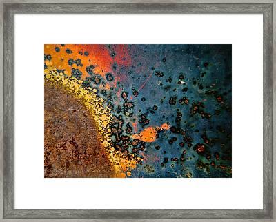 Spew Framed Print by Leanna Lomanski