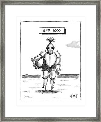 's.p.f. 1,000' Framed Print by Christopher Weyant