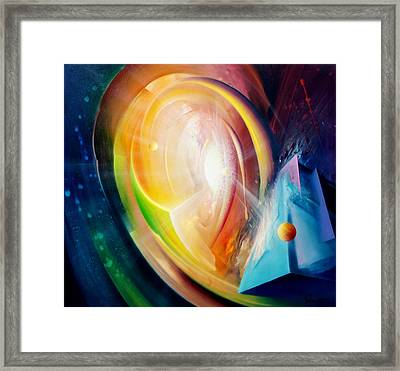 Sphere B11 Framed Print by Drazen Pavlovic