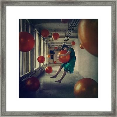 Spheres Framed Print by Anka Zhuravleva