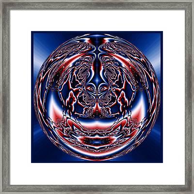 Spherical Art No 5 Framed Print