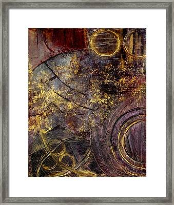 Spherical Romance Diptych Left Framed Print by Holly Anderson