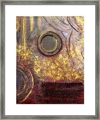 Spherical Romance Diptych Right Framed Print by Holly Anderson