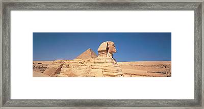 Sphinx Giza Egypt Framed Print by Panoramic Images