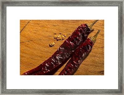 Spice It Up Framed Print by Andrew Pacheco