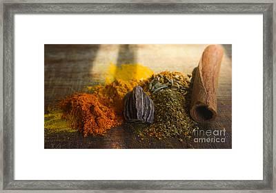 Spice Framed Print by Jan Wolf