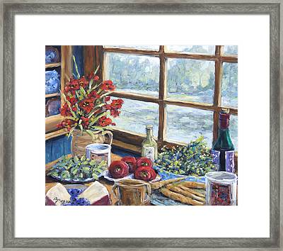 Spice Table By Prankearts Framed Print