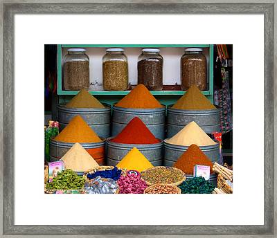 Spice Up Your Life Framed Print by A Rey