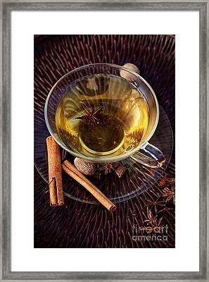 Spiced Tea Framed Print