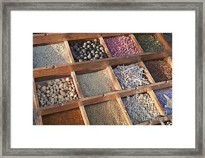 Spices Framed Print by Roberto Morgenthaler