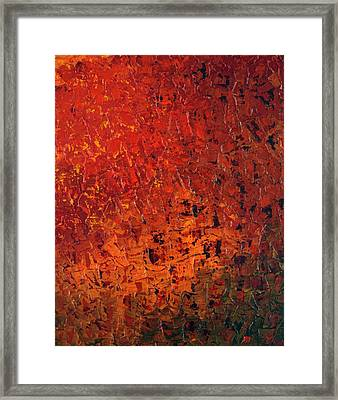 Spicey Framed Print