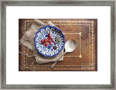 Spicy Cooking Framed Print by Charlotte Lake