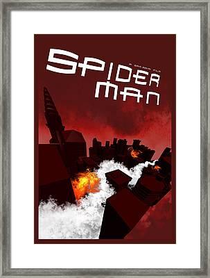 Spider-man 1 Alternative Poster Framed Print by Edgar Ascensao