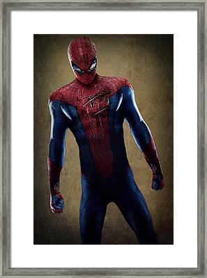 Spider-man 2.1 Framed Print