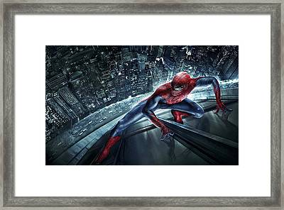 Spider Man 210 Framed Print