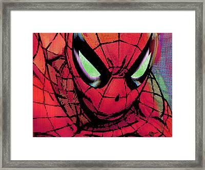 Spider-man Pop Horizontal Framed Print