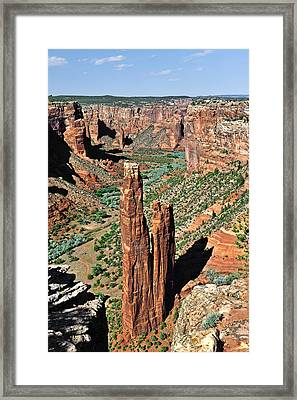 Spider Rock Canyon De Chelly Framed Print