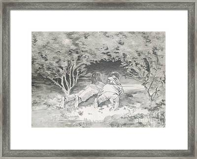 Spies Framed Print by Mary Lynne Powers