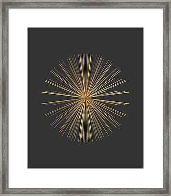 Framed Print featuring the digital art Spikes... by Tim Fillingim
