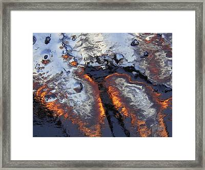 Spiking 2 Framed Print