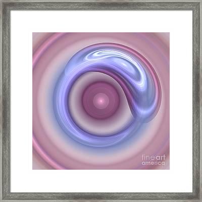 Spilled Silk Framed Print by Victoria Harrington