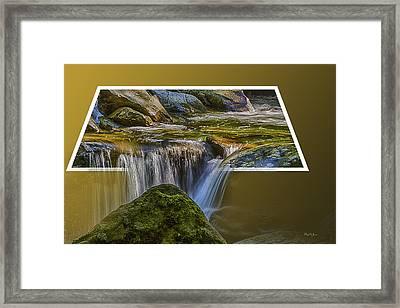 Landscape - Mountain - Spillover  Framed Print