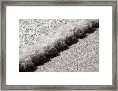 Spillway Framed Print by Jim Hughes