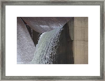 Spillway Framed Print