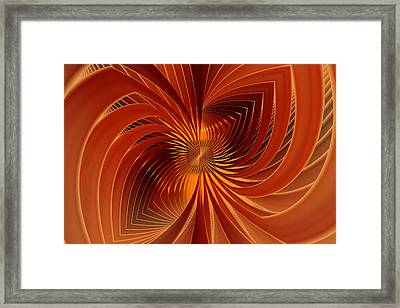 Spin Cycle Framed Print