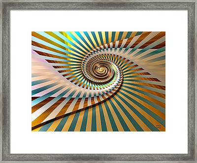 Spin Framed Print by Manny Lorenzo