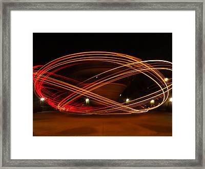 Spin Me Round Framed Print