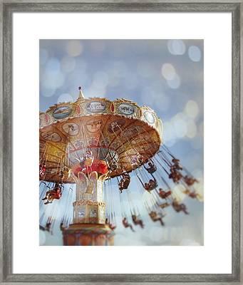 Spin Framed Print by Melanie Alexandra Price
