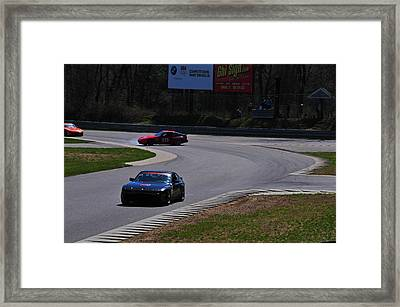 Spin Out Framed Print by Mike Martin