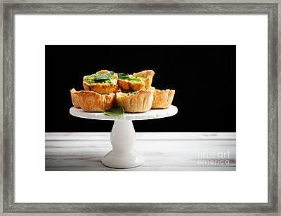 Spinach Pie Framed Print by Kati Molin
