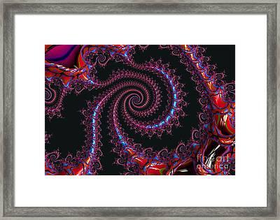 Spinal Twist Framed Print