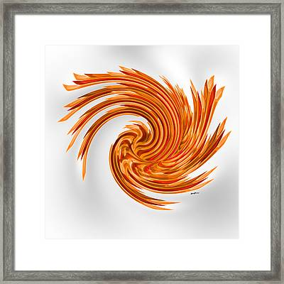 Spinart Framed Print by Anthony Caruso