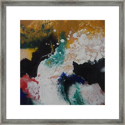 Spindrift Framed Print by Elaine Elliott