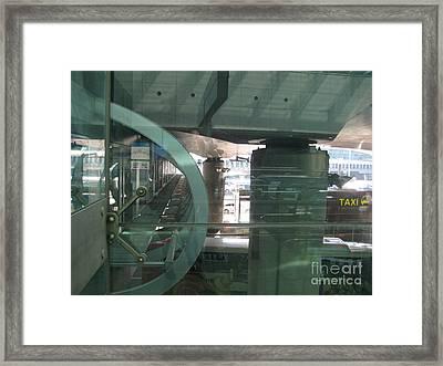 Spine Of Service Bridge Framed Print