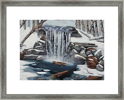 Sping Summer Fall Winter Framed Print