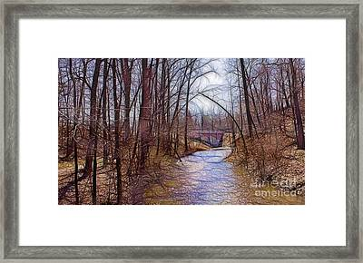 Spingtime In Western New York Framed Print
