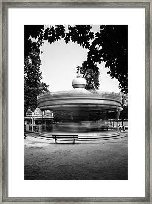 Spinning Carrousel #2 Framed Print