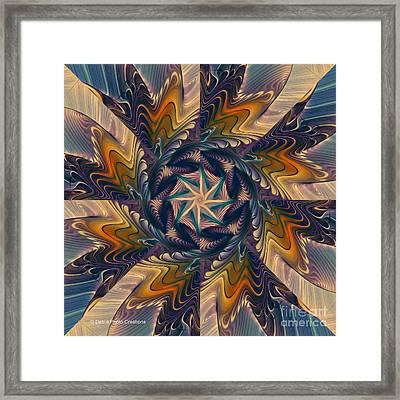 Spinning Energy Framed Print