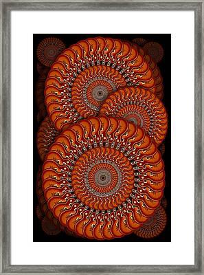 Spinning Guitars Framed Print by Mike McGlothlen