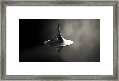 Spinning Top Framed Print