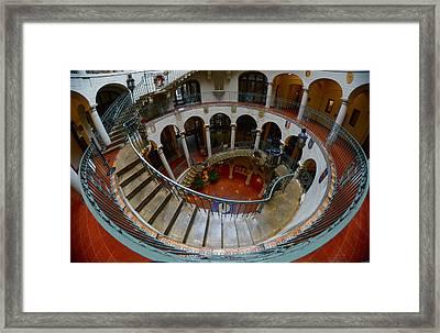 Spiral 3 Framed Print