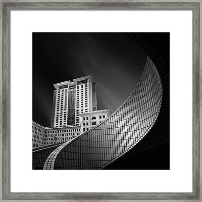 Spiral City Framed Print