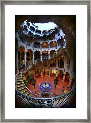 Spiral Framed Print