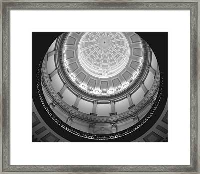 Spiral Dome Framed Print