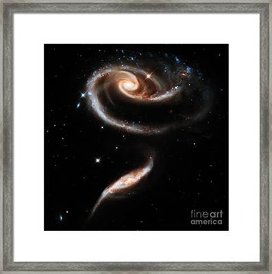 Spiral Galaxies Framed Print by Stephanie Frey