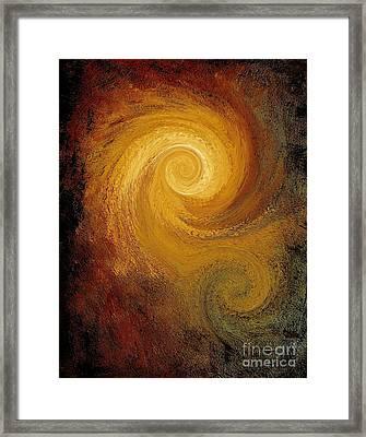 Spiral Galaxy  Framed Print by Michael Grubb
